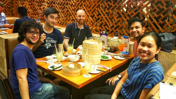 Lab dinner: Dim Sum