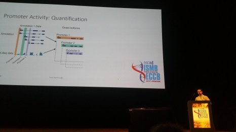 Deniz at ISMB 2017